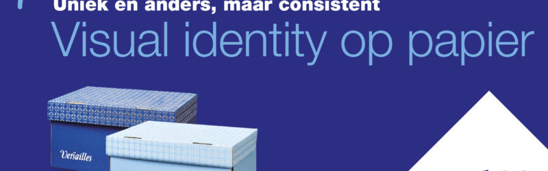 Visual identity op papier