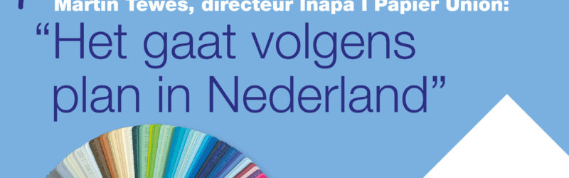 Het gaat volgens plan in Nederland